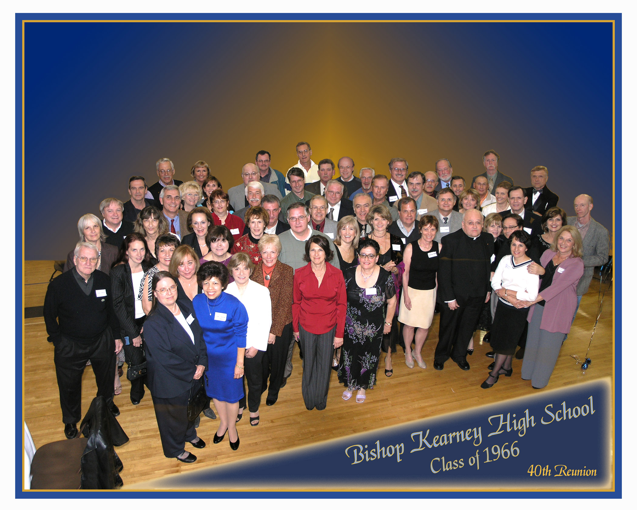 Bishop Kearney Class of 1966, 40th Reunion